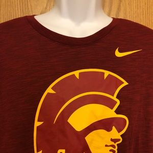 Nike USC Trojans t shirt men's xxl NWT msrp $35.00